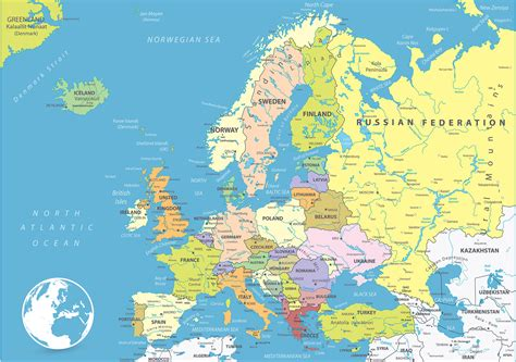 map of europe map of europe europe political map