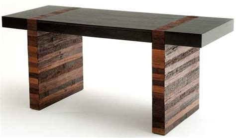 Modern Rustic Desk Contemporary Wood Office Desk Urban Desk Modern Wood Desk