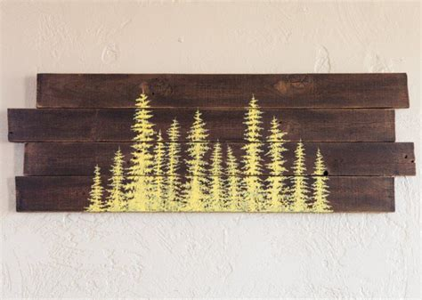 tree painted on wood ideas 15 extremely easy diy wall ideas for the non skilled diyers