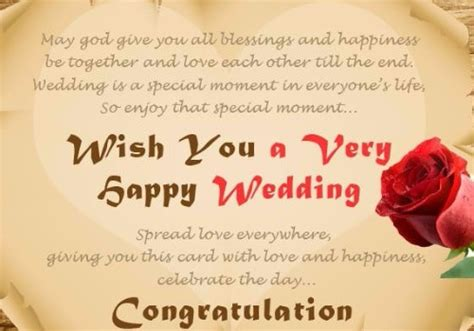 Wedding Congratulations Unable To Attend by 60 Marriage Wishes And Messages Wishesgreeting