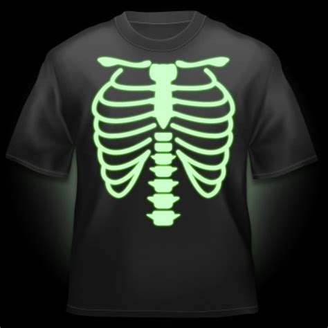 Kaos Black Tshirt Nike F C glow t shirt skeleton glow flash t shirts