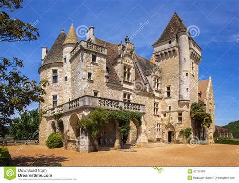 French Chateau Style Homes chateau des milandes editorial stock image image 40735709