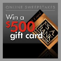 Jos A Bank Gift Card - contests sweepstakes 171 i crave freebies page 4