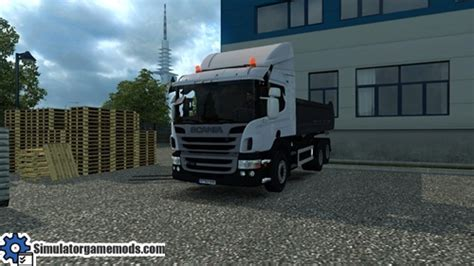 ets 2 scania p360 truck simulator mods