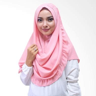 Harga Kerudung Instan Jual Milyarda Kenisha Kerudung Instan Pink