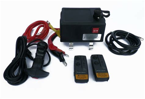 ultimate winch solenoid control box with remotes 500
