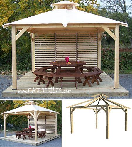 Kiosque De Jardin Moderne by Kiosque Bois 4 Pentes B 226 Che Vantelles Sp35351v