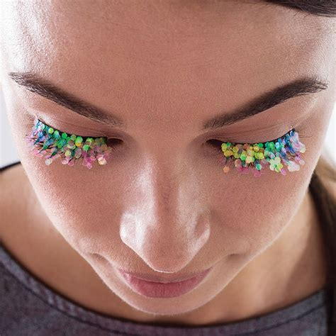 Chandelier Party Mermaid Glitter Festival Lashes By Niclove