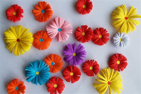 How To Make A 3d Flower With Paper - 3d origami paper flowers by designermetin on deviantart