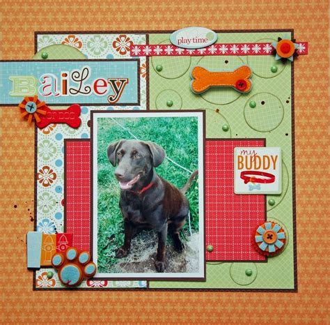 scrapbook layout ideas for pets 662 best layouts pets images on pinterest dog