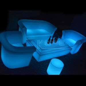 china outdoor led furniture led light up outdoor lounge
