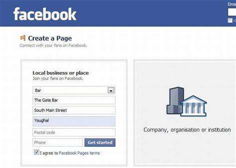 facebook business page about section how to create a facebook page for your business kmc graphics