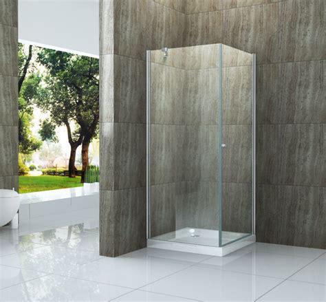 duschkabine mit duschtasse duschkabine ed 01 90 x 90 x 190cm glas dusche duschwand