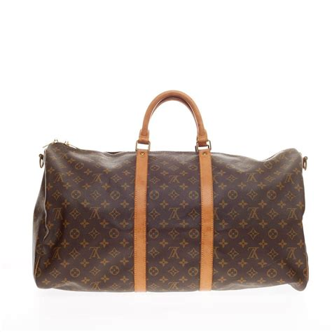 Dompet Louis Vuitton 2288 V louis vuitton keepall bandouliere monogram canvas 55 at 1stdibs