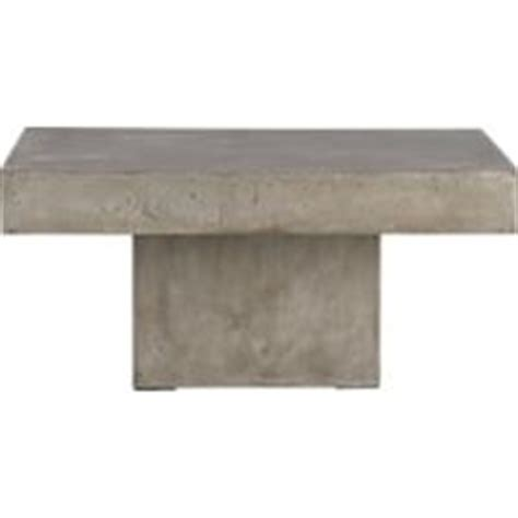 cb2 concrete coffee table element cement blocks coffee table from cb2 tables living