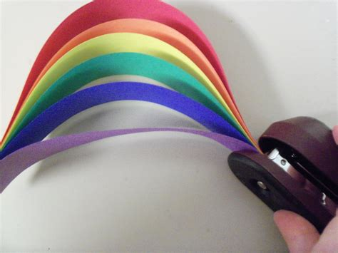 How To Make A Paper Rainbow - easy paper rainbow craft librerin