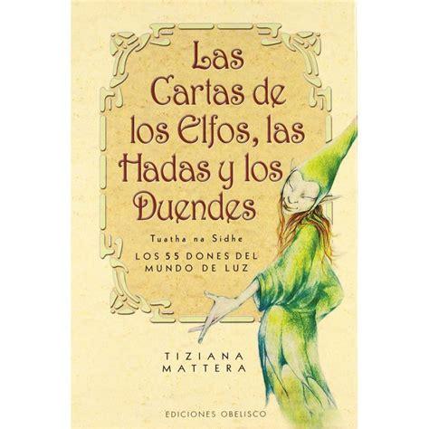 libro tarot of the sidhe tarot elfos hadas y duen