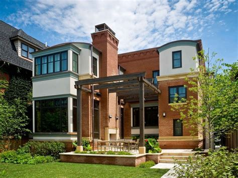 leed certified home in the city traditional exterior chicago by mccann associates inc