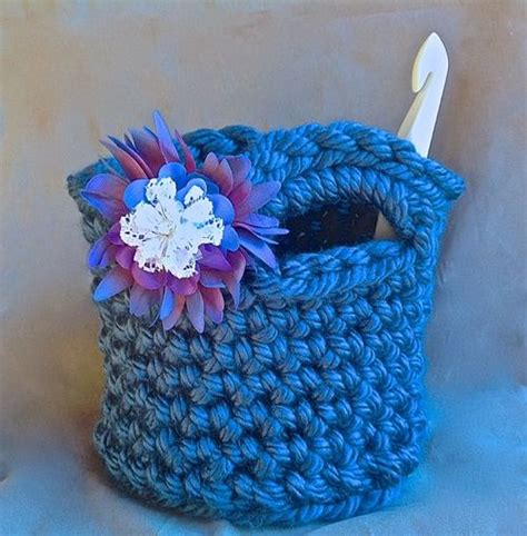 crochet work bag pattern mega bulky crochet tote bag pattern favecrafts com