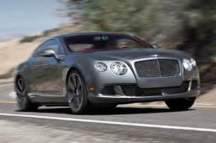 Bentley Gts 2013 Bentley Continental Gt Speed Test Motor Trend