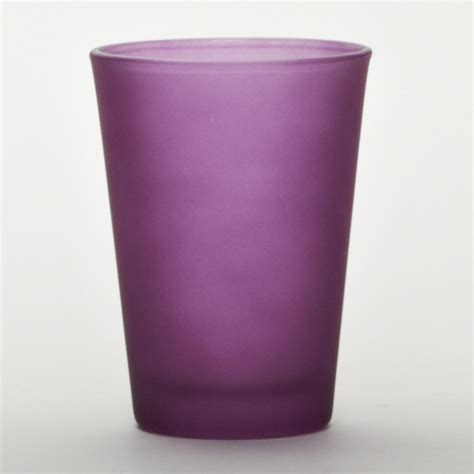 Glass Cylinder Vases Purple Glass Cylinder Cup