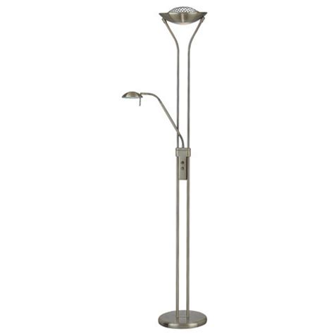 Floor Ls With Reading Light by Lite Source Ls 80984ab Duality Torchiere Floor L With