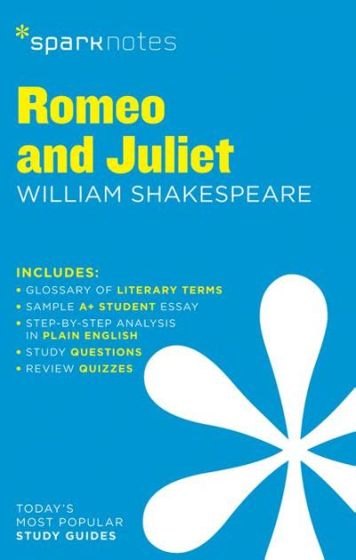 summary of romeo and juliet khafre romeo and juliet sparknotes literature guide series by
