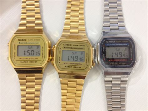 Casio Gold Watch A168WG 9   REAL vs FAKE   YouTube