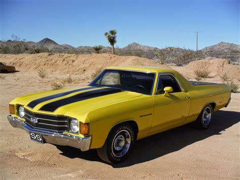 1972 el camino ss all american classic cars 1972 chevrolet el camino ss