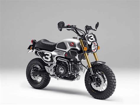 Honda Gron Honda Grom 50 Scrambler Concepts Coming To Tokyo Motor