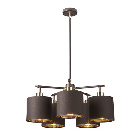 Balance Brown balance brown polished brass 5lt chandelier lucas mckearn