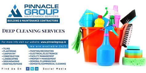 deep cleaning limerick maintenance repair services pinnacle group