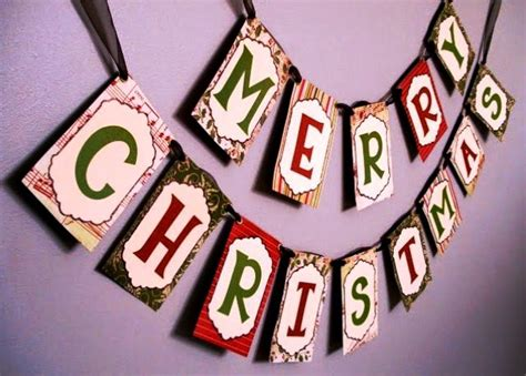 membuat hiasan merry christmas  natalkreasi  kerajinan