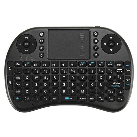 Unik Mini Keyboard Wireless I8 2 4g Handheld Keyboard For Pc Tr 36y Ba ipazzport i8 2 4g wireless italian version rechargeable mini keyboard touchpad airmouse alex nld