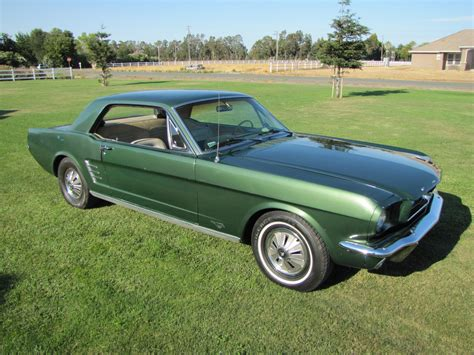 1966 mustang color for me green is my