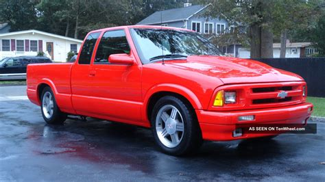 chevy s10 ss p u ramjet fuel injection 1995
