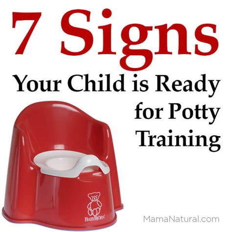 7 Signs That Your Child Is Developing An Disorder 7 signs your child is ready for potty