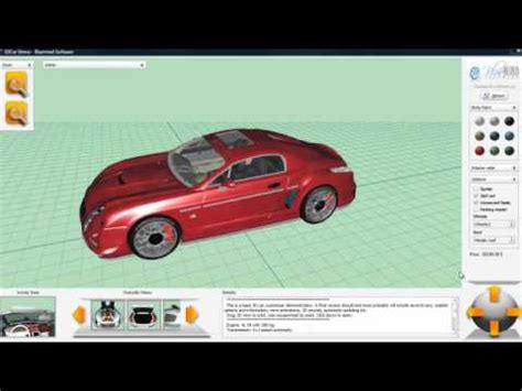 Auto Tuning Konfigurator 3d by 3d Car Configurator 3dcar Exclusive Preview With