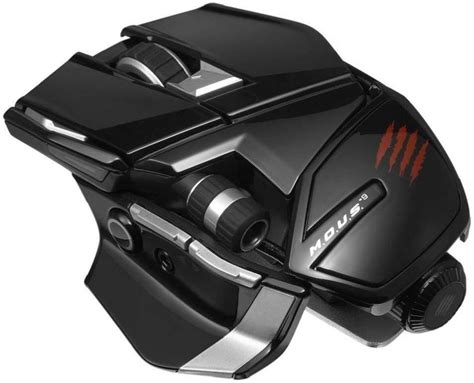 Pc Mcz Mous9 Mouse Gloss Black mad catz m o u s 9 gloss black wireless gaming mouse pc