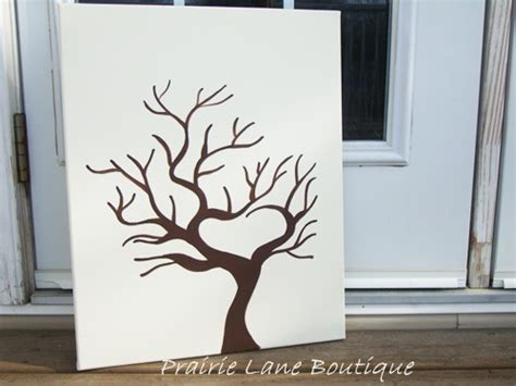 thumbprint tree template the brandon fingerprint tree by prairielaneboutique