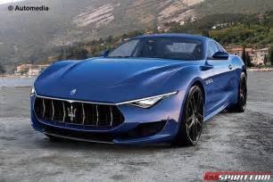 Maserati Alfieri Production Spec Maserati Alfieri Rendered Gtspirit