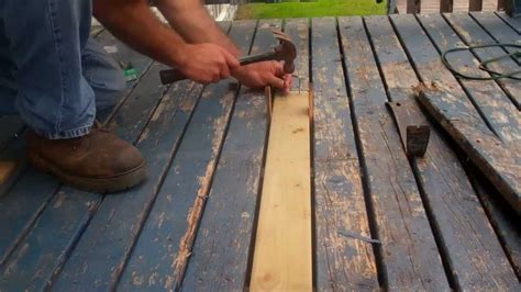 How To Replace Wood Floor Boards by How To Replace Rotten Decking