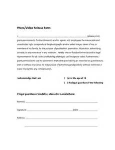 Photography Release Form Template by Doc 600600 Release Form Template Doc600600