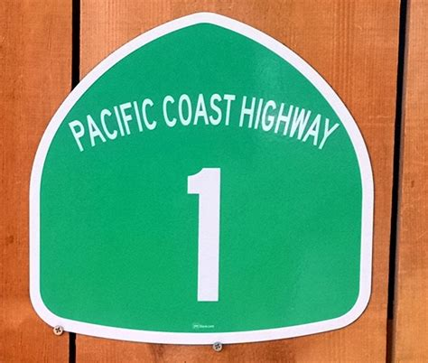 Pch Sign In - pacific coast highway pch 1 california sign 395 store