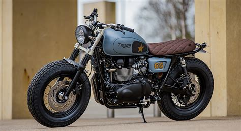 Triumph Motorrad England by Down Out Motorcycles Bespoke Motorcycles England