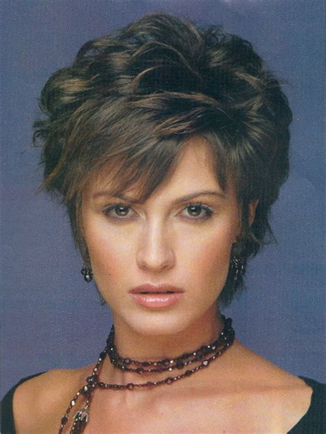 funky hairstyles for 2014 and women age 40 short layered hairstyles for women over 40
