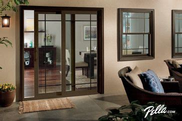 pella 174 350 series sliding patio doors traditional pin by debbie patch on patio doors pinterest