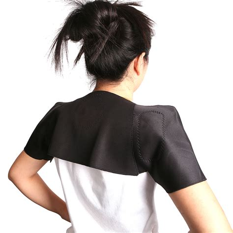 infrared self heating shoulder wrap therapy product code infrared self heating magnetic therapy tourmaline neck wrist