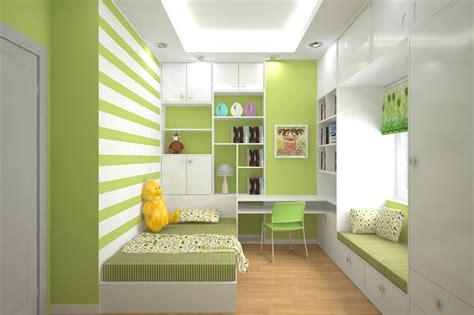 desain kamar warna hijau desain kamar anak ruang sempit warna hijau
