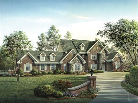 Mathes Place European Home Plan 007d 0149 House Plans Authentic Country House Plans